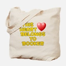 This Heart: Booker (D) Tote Bag