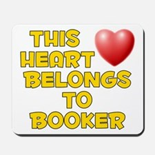 This Heart: Booker (D) Mousepad