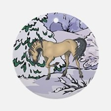 Andalusian Christmas Ornament (Round)