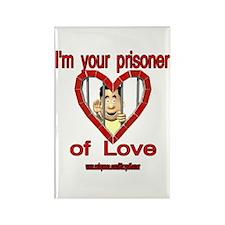 PRISONER OF LOVE-MAN Rectangle Magnet