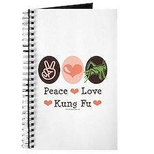 Peace Love Grasshopper Kung Fu Journal