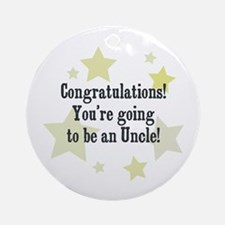 Congratulations! You're going Ornament (Round)