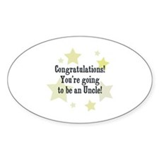 Congratulations! You're going Oval Decal