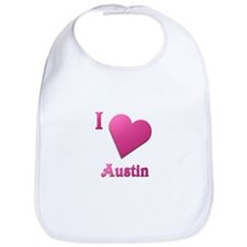 I Love Austin #19 Bib