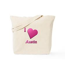 I Love Austin #19 Tote Bag