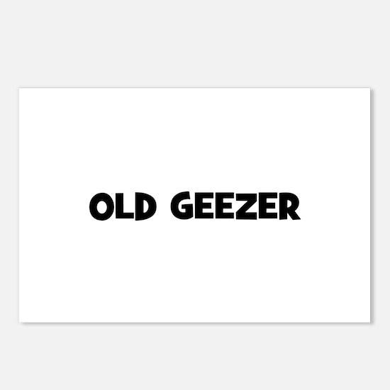 Old Geezer Postcards (Package of 8)
