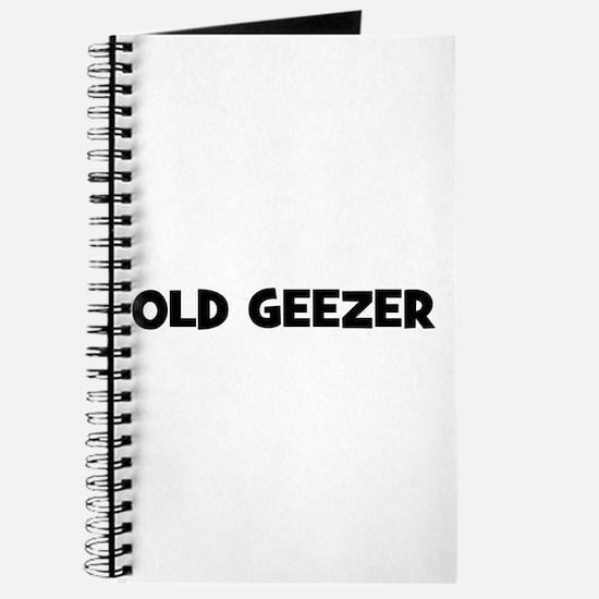 Old Geezer Journal