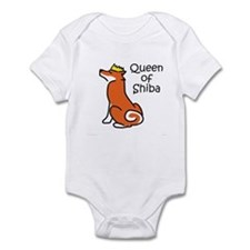 Queen of Shiba Infant Bodysuit