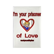 PRISONER OF LOVE-WOMAN Rectangle Magnet