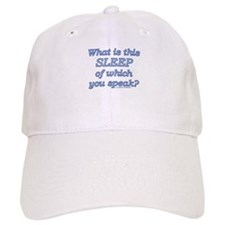 Funny Sleep Joke Baseball Cap