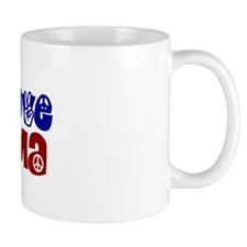 Peace, Love and Obama Small Mug