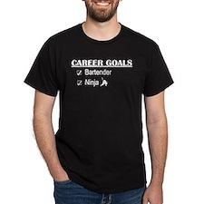 Bartender Career Goals T-Shirt