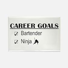 Bartender Career Goals Rectangle Magnet