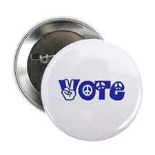 """Vote for Peace 2.25"""" Button (10 pack)"""