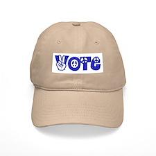 Vote for Peace Baseball Cap