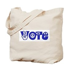 Vote for Peace Tote Bag