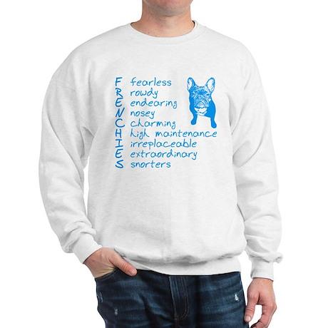 F R E N C H I E S blue Sweatshirt