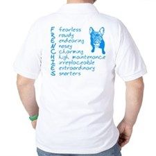 F R E N C H I E S blue T-Shirt