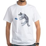 Disc Dog Missed It White T-Shirt