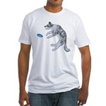 Disc Dog Missed It Fitted T-Shirt