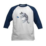 Disc Dog Missed It Kids Baseball Jersey