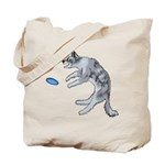 Disc Dog Missed It Tote Bag