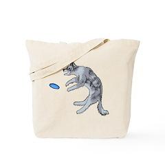 Disc Dog Missed It Tote Bag