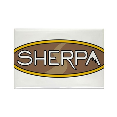 sherpa Rectangle Magnet (10 pack)