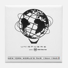 Classic NY World's Fair Tile Coaster