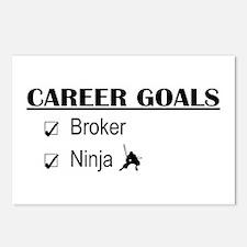 Broker Career Goals Postcards (Package of 8)