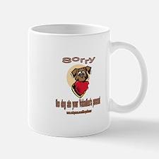 DOG ATE PRESENT Mug
