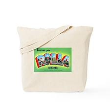 Rolla Missouri Greetings Tote Bag