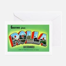 Rolla Missouri Greetings Greeting Card
