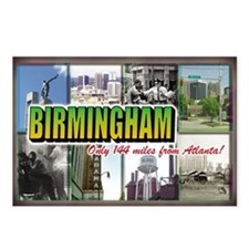 Birmingham Postcards (Package of 8)