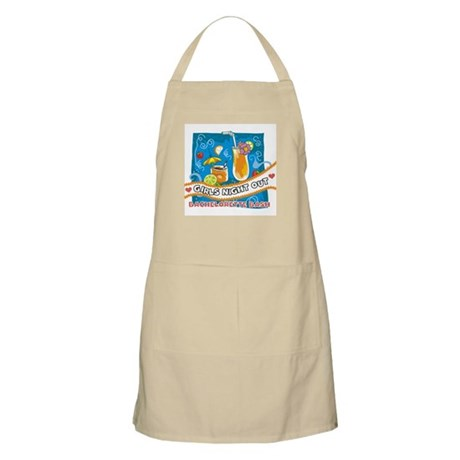 Tropical Girls Night Out BBQ Apron