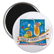 "Tropical Girls Night Out 2.25"" Magnet (10 pack)"