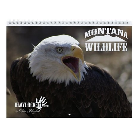 Montana Wildlife Wall Calendar