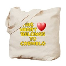 This Heart: Carmelo (D) Tote Bag
