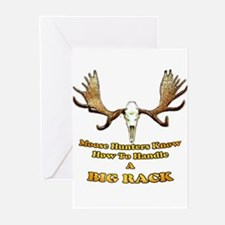moose humor gifts and t-shirts Greeting Cards (Pk