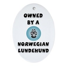 Owned by a Lundehund Keepsake (Oval)