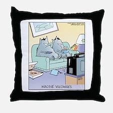 Inactive Volcanoes Throw Pillow