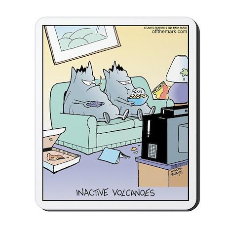 Inactive Volcanoes Mousepad