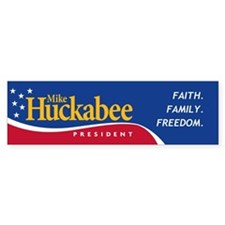 Mike Huckabee for President Bumper Bumper Sticker