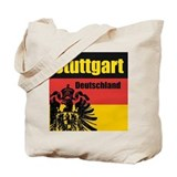 Stuttgart germany Canvas Totes