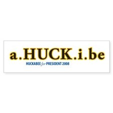 a.HUCK.i.be Bumper Bumper Sticker