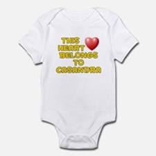 This Heart: Casandra (D) Infant Bodysuit