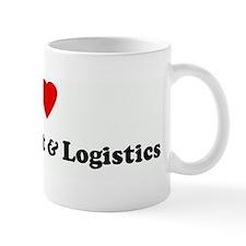 I Love Procurement & Logistic Mug