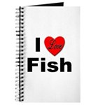 I Love Fish for Fish Lovers Journal