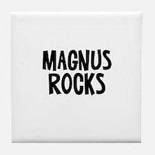 Magnus Rocks Tile Coaster