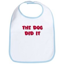 The dog did it Bib